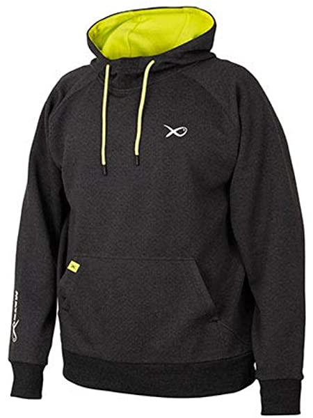 Matrix Minimal Black Marl 1//4 Zip Sweater all sizes Available