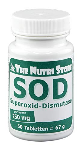 SOD 250 mg Superoxid-Dismutase Tabletten 50 Stk. -