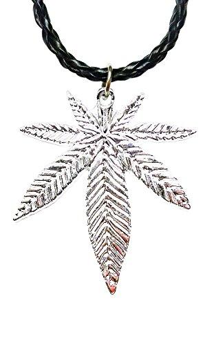 bdj-silber-ton-pot-leaf-anhanger-schnur-halskette-406-cm-51-cm-plpn01