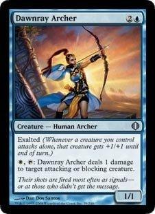Magic: the Gathering - Dawnray Archer - Shards of Alara - Foil by Magic: the Gathering