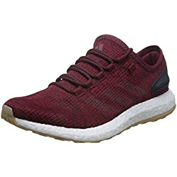 sports shoes 48e23 8c3f8 Adidas Pureboost, Zapatos para Correr para Hombre, Rojo (Buruni Lino Maosno