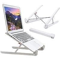 Elekin Ordinateur Portable Stand Réglable Portable Portable Titulaire Pliable Ergonomique Bureau Stand pour Support MacBook pour Ordinateur Portable PC iPad Tablet