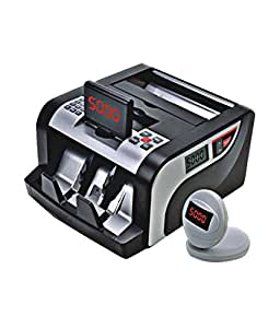 Strob ST-5000 Acu-Count Fully Automatic Bill Counter Machine – Loose Notes/Cash /Money/Currency Counter Machine
