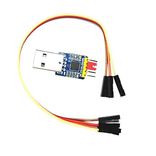 Preisvergleich Produktbild Sharplace 1 Stück CP2102 Modul mit 4-Pin Du Pont Kabel Kabellänge: ca. 20cm / 7, 87 Zoll