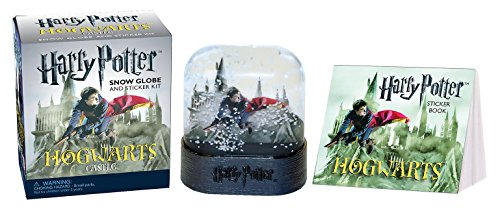 Harry Potter Hogwarts Castle Snow Globe and Sticker Kit (Miniature (Harry Kit Potter)