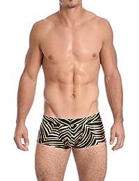7e5e13add4430 1-48 of 108 results for Clothing   Men   Swimwear   Gold. Gary Majdell  Sport Mens Printed Hot Body Boxer Swimsuit