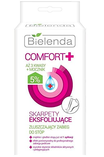 BIELENDA Komfort Peeling Behandlung Socken Pflegende Refresh Regeneration -