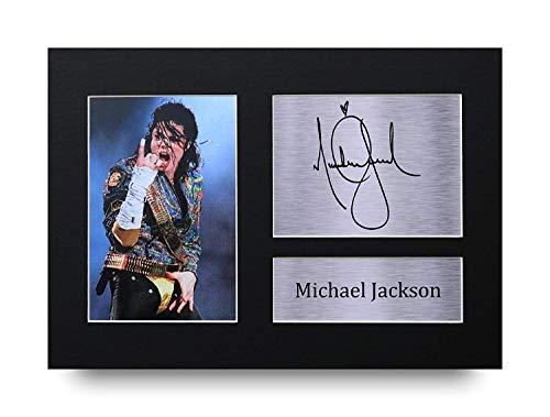 L'autographe Michael Jackson