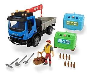 Dickie- Vehículo de Juguete con Figura y Accesorios, Multicolor (3836003)