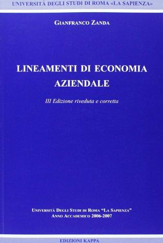 Lineamenti di economia aziendale