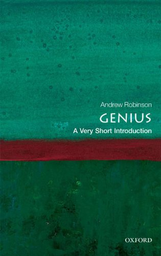 genius-a-very-short-introduction-very-short-introductions