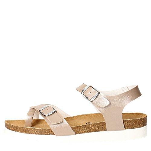 Pregunta PEC0469-I 003 Sandalo Donna Pelle Sintetico Taupe Taupe 40