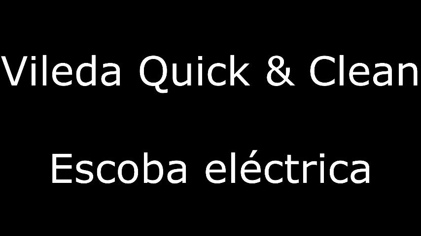 Amazon.es:Opiniones de clientes: Vileda Quick & Clean - Escoba eléctrica inalámbrica y cepillo eléctrico con articulación flexible y 2 cepillos giratorios ...