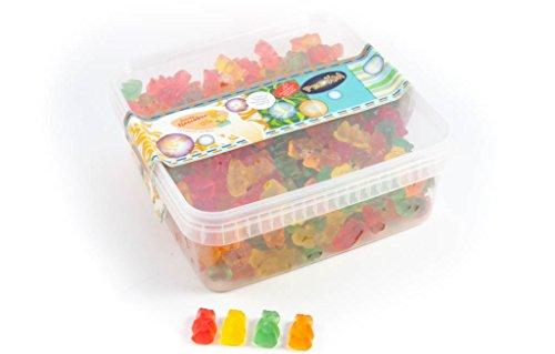 Deine Naschbox - Zuckerfreie-Fruchtgummi-Bärchen - 1kg Box