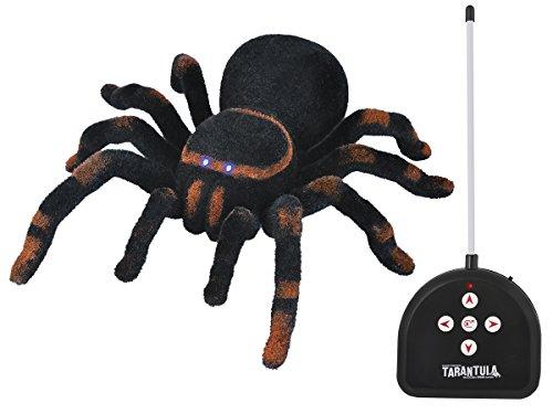 erte Spinne ,,Tarantel' 23x25x7,5cm Riesenspinne Lichtaugen Scherzartikel 4503 ()