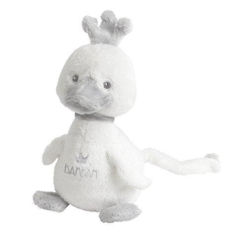 Bam Bam New Baby Unisex Soft weiß Musical lullabye Duck in Geschenk Tüte