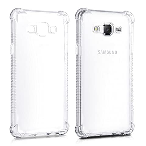Samsung J 5 Telephone - kwmobile Étui transparent pour Samsung Galaxy J5
