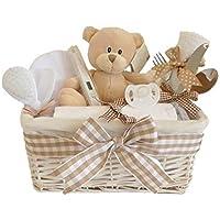 Glimmer en osier/panier/Panier Cadeau pour bébé bébé unisexe Bébé Douche cadeaux/New Arrival cadeau/maternité/Cadeau/Panier/Cadeau pour nouveau-né pour bébé Unisexe envoi rapide