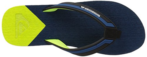 Quiksilver , Herren Sandalen Blue/Yellow/Blue