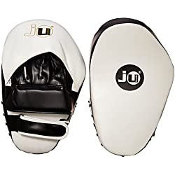 Ju-Sports 3502300 Curved Plus - Manoplas de boxeo, color negro y blanco