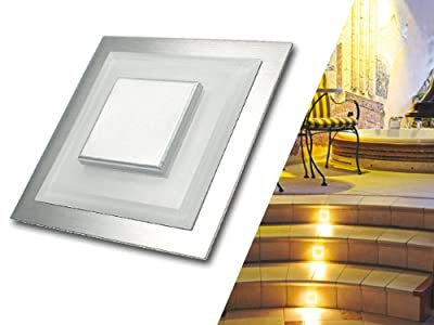 5 X Escala 1 Led 12v Wandeinbauleuchte Treppenbeleuchtung 05w Kaltwei Trendlights24 Hausmarke von trendlights24
