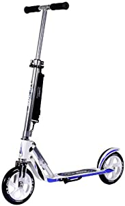 HUDORA Big Wheel Scooter 205, Tret-Roller klappbar - City-Scooter - 14725, weiß/blau