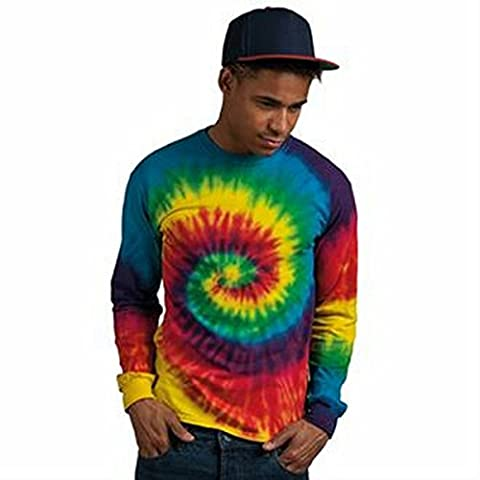Manches longues tie-dye tee