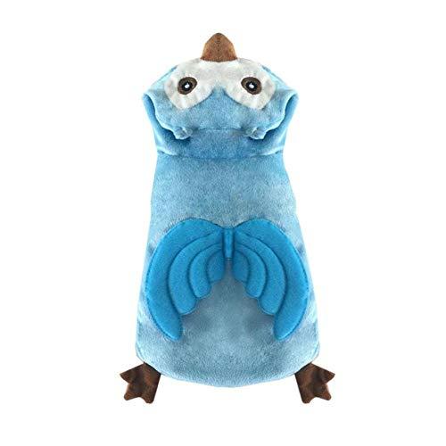 Niedlichen Kostüm Pinguin - WUXXX Pet Mode Hund Spaß Kleidung, niedlichen blauen Pinguin Flügel Kostüm, warme und atmungsaktive Kleidung