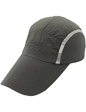 vertast largo Bill sol protección gorra de béisbol deportes de transpirable de secado rápido sombrero