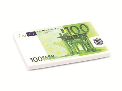 XXL Radiergummi, Euro-Design Radiergummi Euroschein