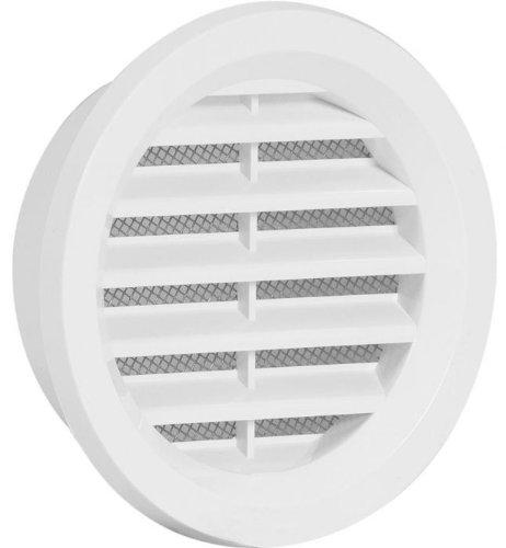 MINI Cerchio griglia di aerazione coprire i tubi di 70 mm copertura bianca di alta qualità in plastica ventilazione ASA