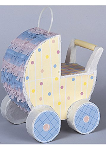 aby Dusche Party Carriage Pram Pinata ()