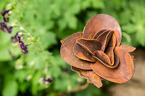 kuheiga Gartenstecker/Dekoblume Rose - 2