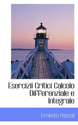 Esercizii Critici Calcolo Differenziale e Integrale