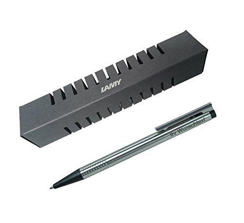 Lamy Kugelschreiber Logo matt Modell 205, Farbe schwarz inkl. Laser-Gravur