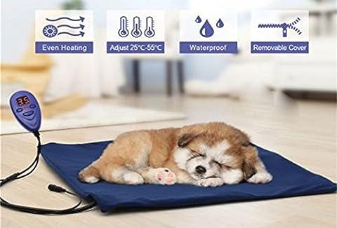 Carreguard Wärmer Beheizte Pet Mat - Heizmatte Wärmematte Haustier für Hunde Katzen Kaninchen (Anzeige Mat)