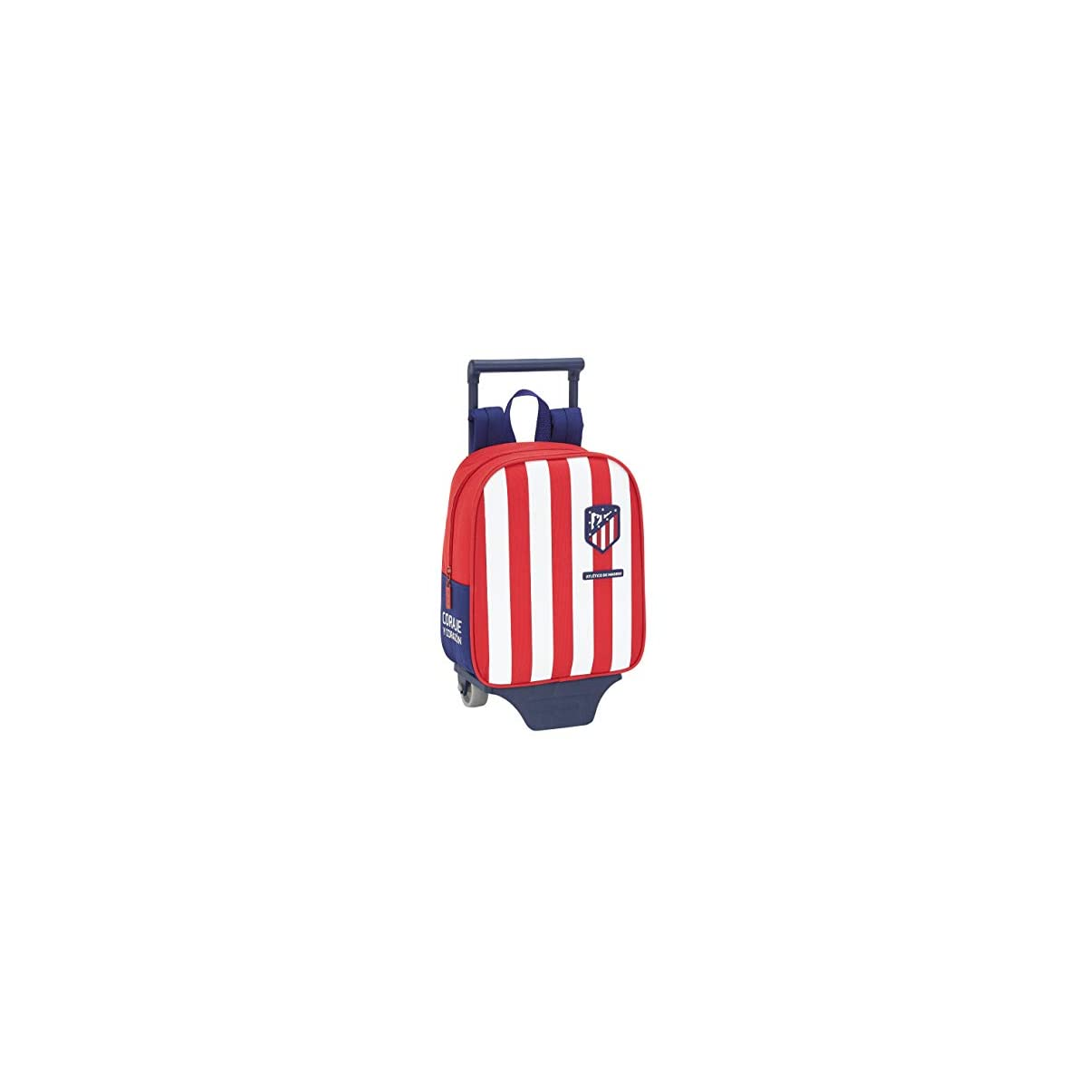 41xB0AbDtKL. SS1200  - Mochila Guardería de Atlético de Madrid Oficial con Carro Safta, 220x100x270mm