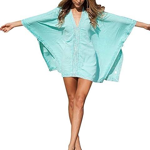 Nusey (TM) 2016 Donne Beachwear Bikini Beach Wear occultamento caftano estate Vestito a camicia Swimwear