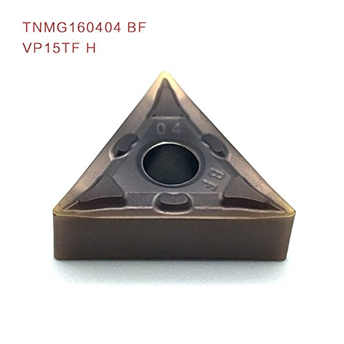 10pcs tnmg160404 bf vp15tf h externe drehwerkzeuge werkzeugmaschinen fräser, hartmetall werkzeugen
