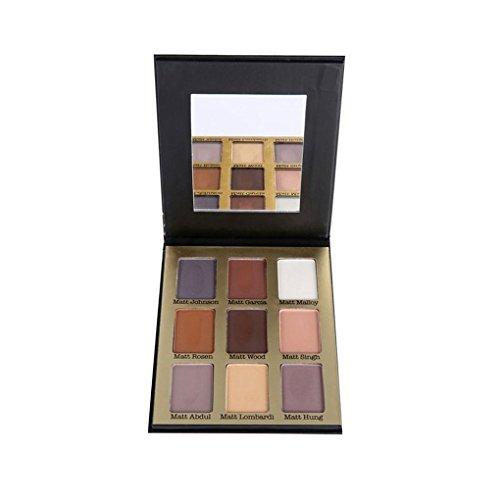 Royalr 9 Farben Long Lasting Eye Tint Shimmer Glitter-Puder-Palette Kit Eye Shades Taint Makeup Schatten Set