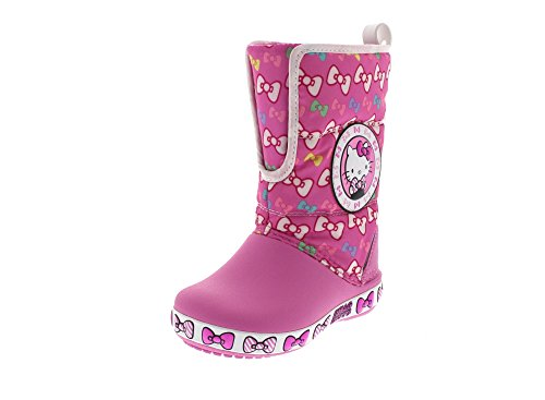 CROCS Kids - HELLO KITTY GUST BOOT - party pink, Dimensione:29-30