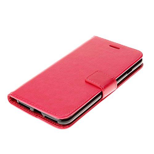 PU Cuir Coque Strass Case Etui Coque étui de portefeuille protection Coque Case Cas Cuir Swag Pour Apple iPhone 7 Plus (5.5 pouces) +Bouchons de poussière (5DD) 1