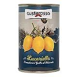 Lucariello tomate amarillo entero natural 400 gr. Estaño Gustarosso