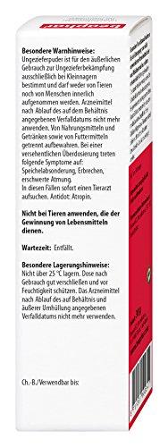 beaphar Bug Powder | Medium Mites at Kleintieren | Flea Protection | Also to Prevent Lice Suitable | 30 G Can 2