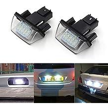 GOFORJUMP 1 Par NINGÚN Error Atuo LED Número de matrícula Luz Trasera de la lámpara para