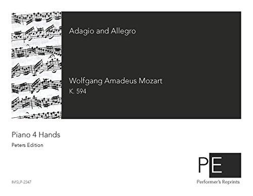 Adagio and Allegro - For Piano 4 Hands