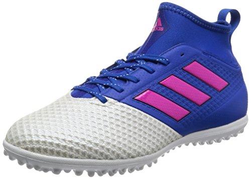 Adidas Ace 17.3Primemesh TF–Bleu/chocs Rose/Chaussures–Blanc Bleu