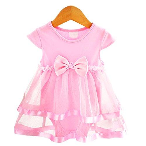 Strampler Overall [4-6 Monate] Neugeborene für Kleinkinder Jungen Mädchen Sommer Baby Strampler Kleidung Set Pink Babykleidung