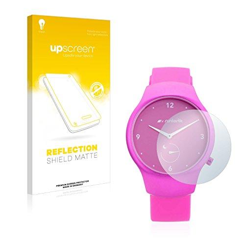 upscreen Entspiegelungs-Schutzfolie kompatibel mit Runtastic Moment Fun - Anti-Reflex Bildschirmschutz-Folie Matt