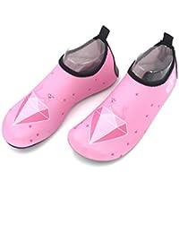 Nan Zapatillas de Deporte acuático Descalzo Secado Calcetines de Yoga cómodos y livianos Unisex (Color